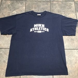 VTG 90's Nike Athletics S/S T-Shirt Size XL